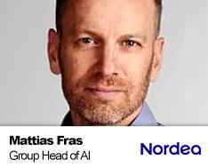 Mattias Fras - Group Head of AI Strategy & Acceleration, NORDEA